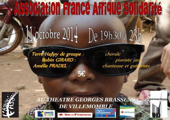 Affiche concert 11 octobre