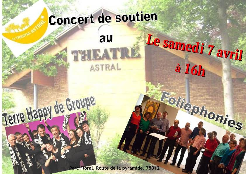 Concert 7 avril 2018 theatre astral 1